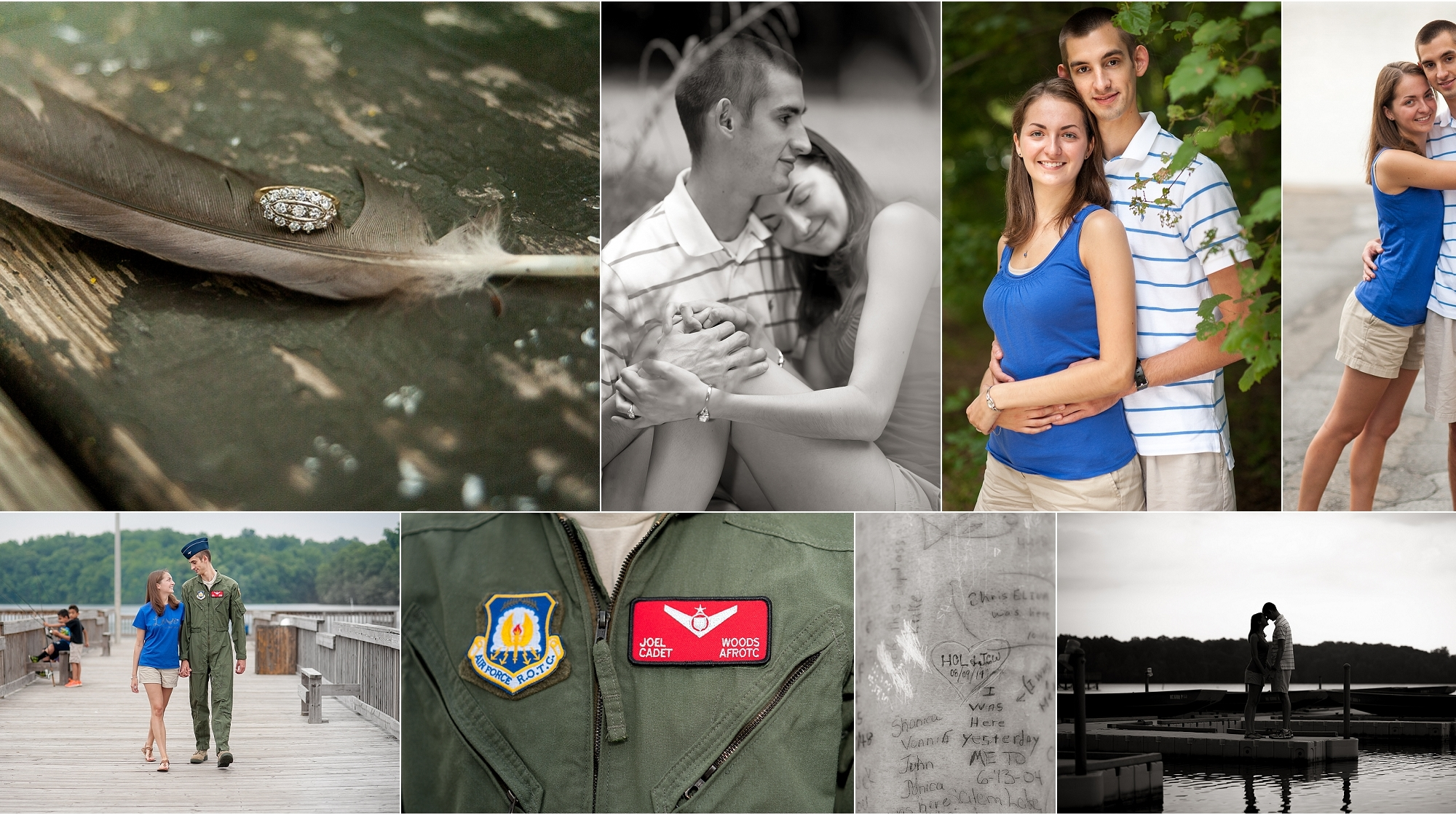 Military, Engagement, Photos, Inspiration, Air Force, North Carolina, Salem Lake
