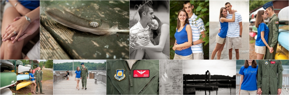 Military, Engagement, Photos, Inspiration, Air Force, North Carolina, Salem Lake