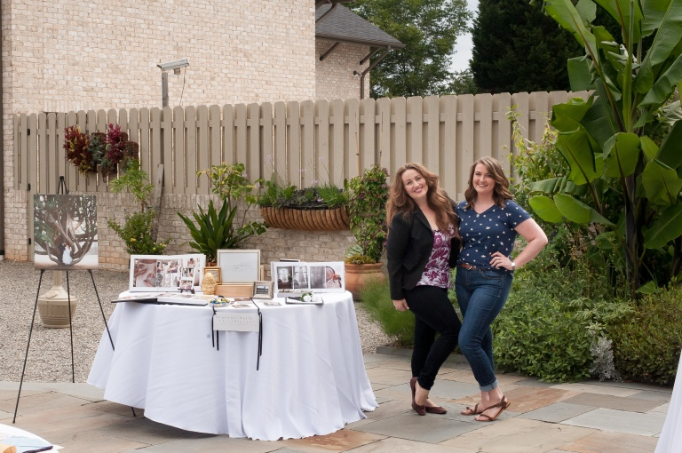 Emily and I attending a Wedding Show at Paul J. Ciener Botanical Gardens