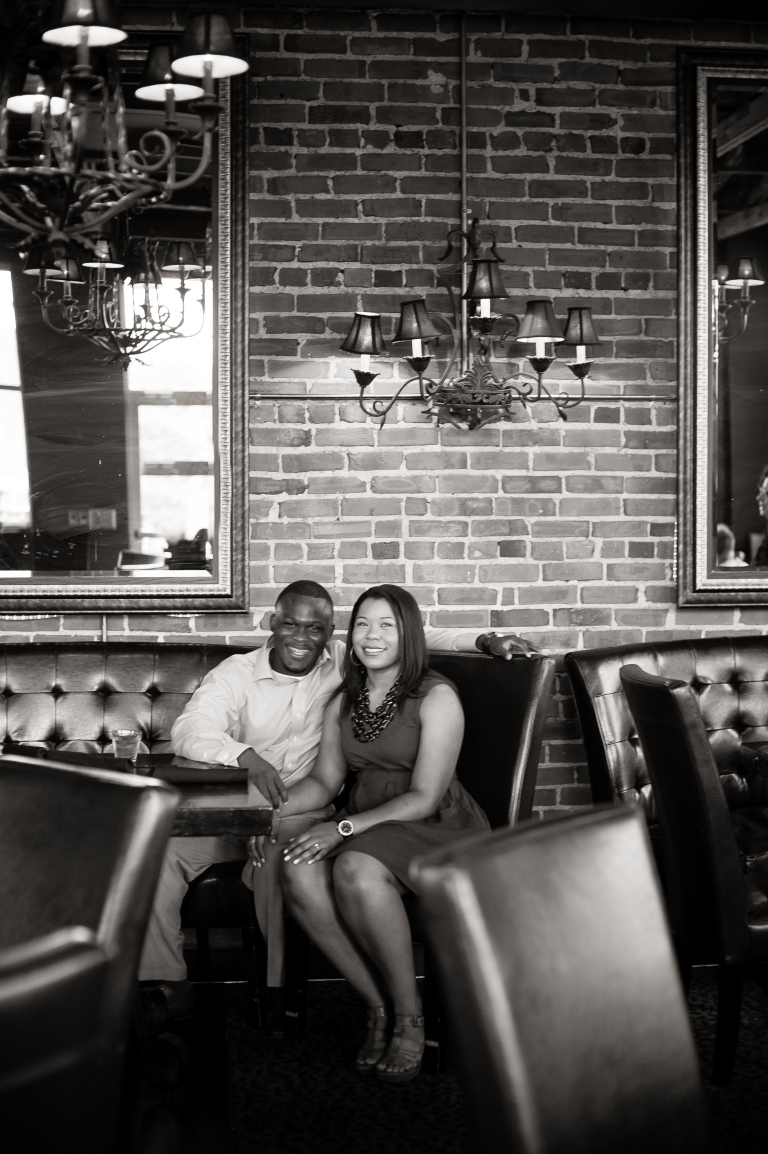 Maria and Jabar Downtown Winston Salem Engagement Photography-41