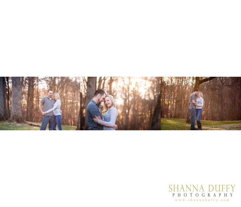Engagement Photography, in North Carolina at Tanglewood Park in Clemmons